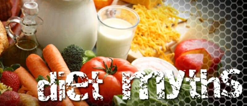 Miti e leggende su dieta e alimentazione sana